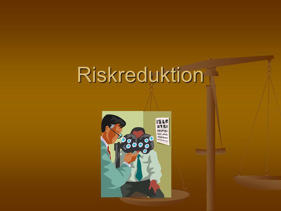 Riskreduktion