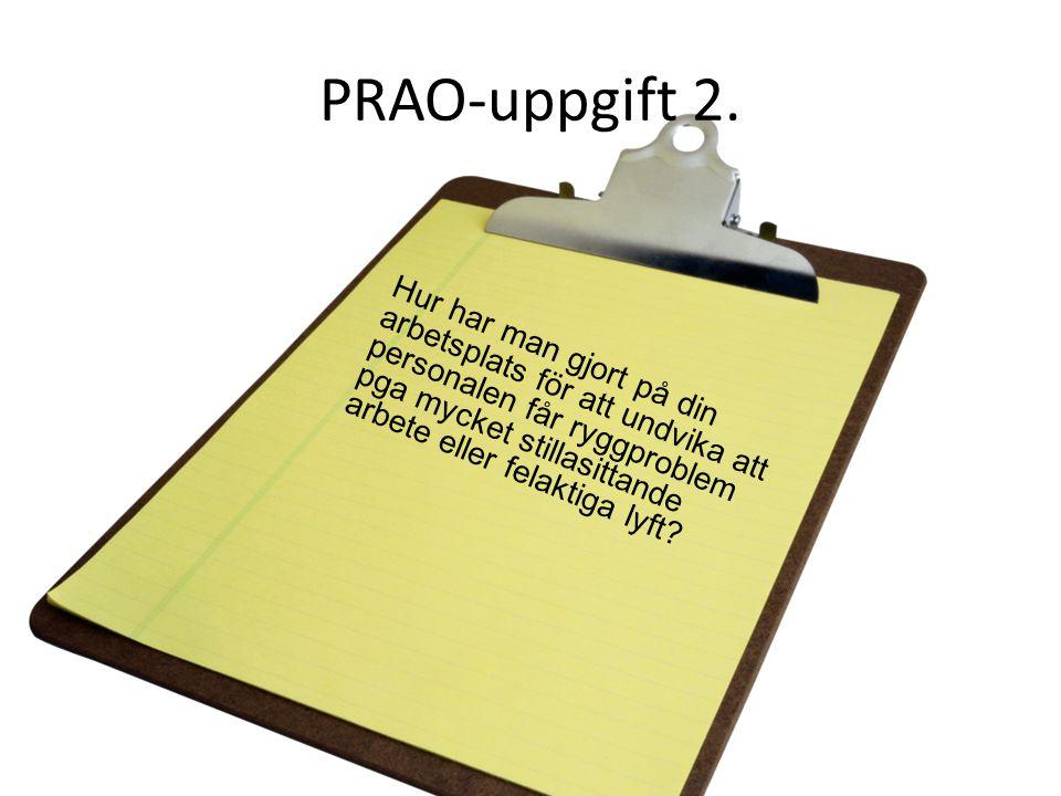 PRAO-uppgift 2.