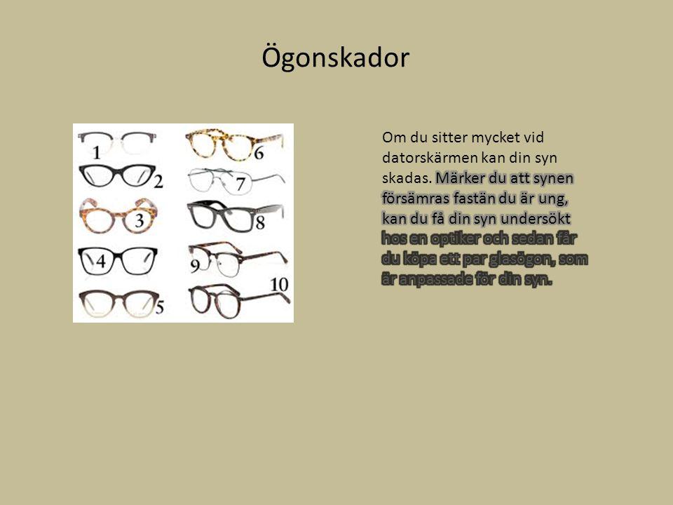 Ögonskador