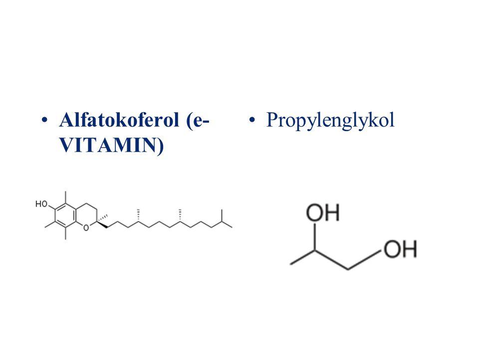 Alfatokoferol (e- VITAMIN) Propylenglykol