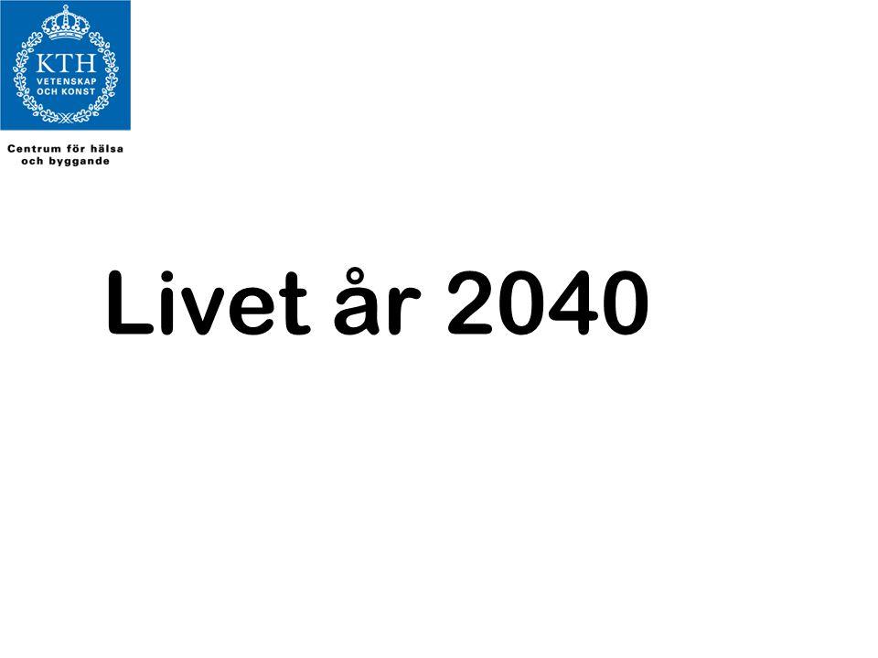 Livet år 2040