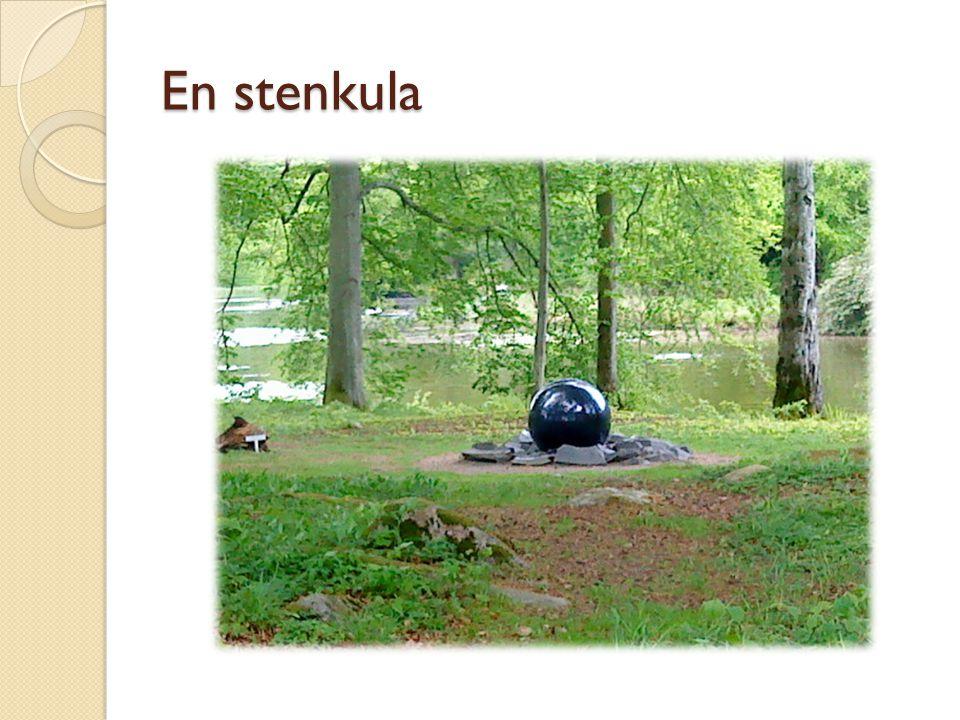 En stenkula