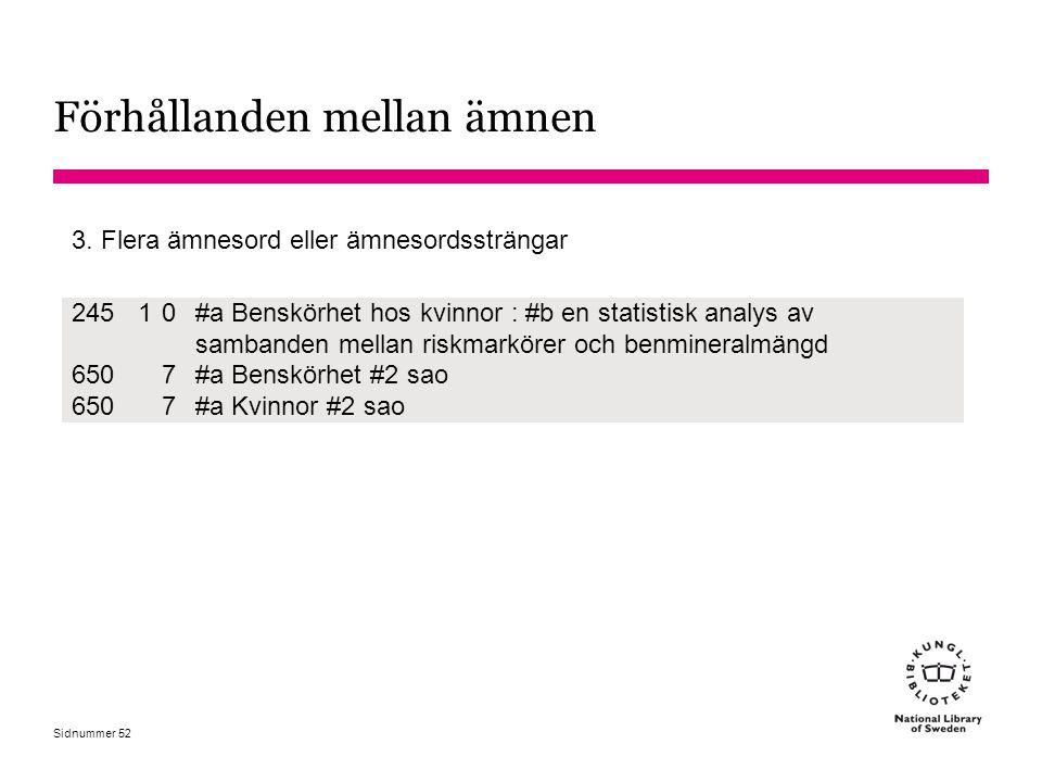 Sidnummer 24510 #a Benskörhet hos kvinnor : #b en statistisk analys av sambanden mellan riskmarkörer och benmineralmängd 6507#a Benskörhet #2 sao 6507