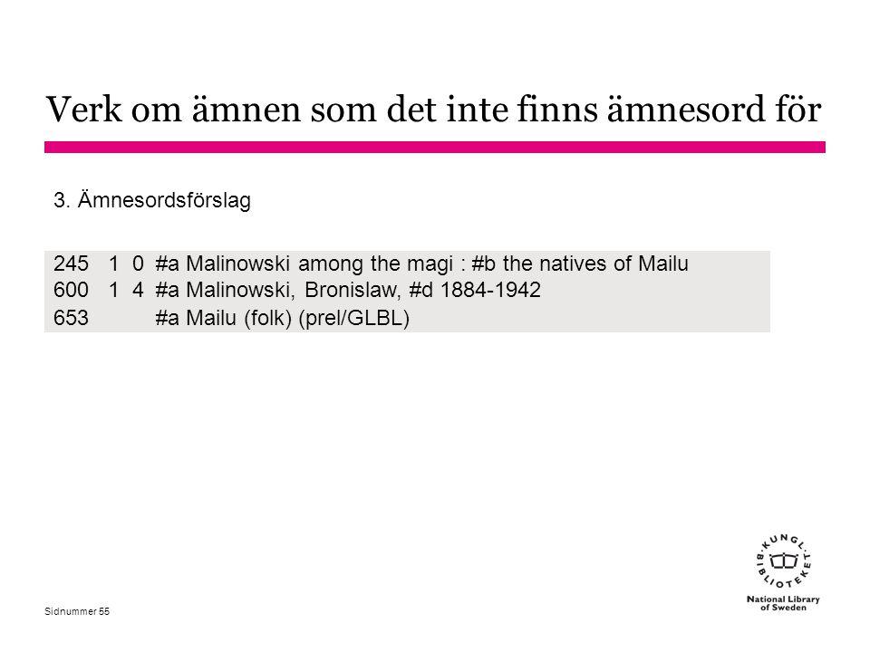 Sidnummer 24510#a Malinowski among the magi : #b the natives of Mailu 60014#a Malinowski, Bronislaw, #d 1884-1942 653#a Mailu (folk) (prel/GLBL) 3. Äm