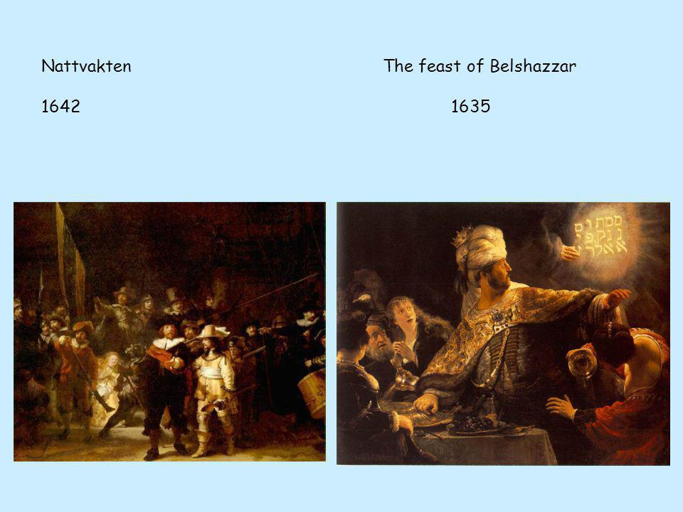Nattvakten The feast of Belshazzar 16421635