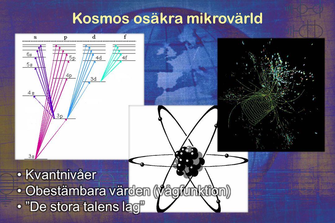 Kosmos osäkra mikrovärld