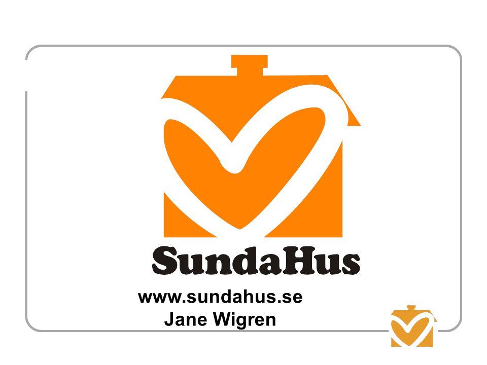 www.sundahus.se Jane Wigren