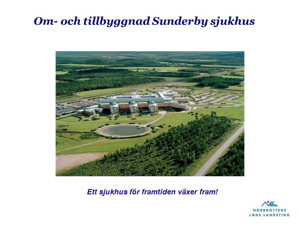 Om- och tillbyggnad Sunderby sjukhus Ett sjukhus för framtiden växer fram!