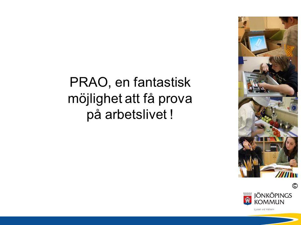 © Att tänka på inför valet till gymnasiet Var aktiv.