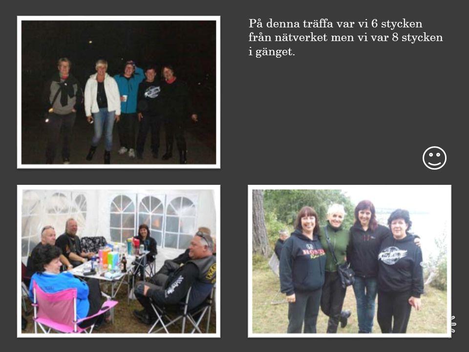 Så den andra träffen … Tändstickstärffen i Jönköping 9-11 september. Här var det tältning i skogen och alla slags motorcyklar fanns det.