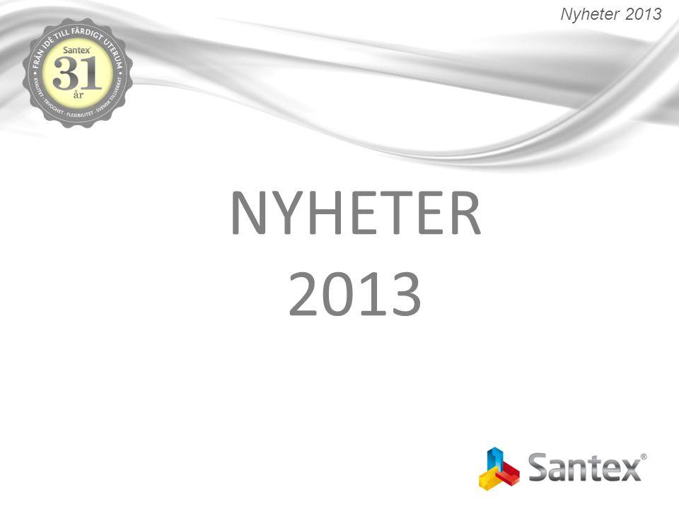 NYHETER 2013 Nyheter 2013