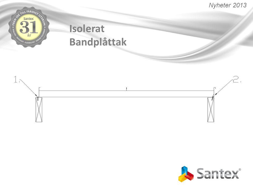 Varför ska kunden välja Santex Glastak.