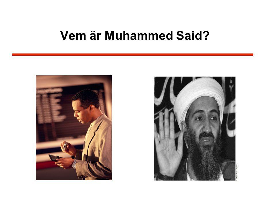 Vem är Muhammed Said?