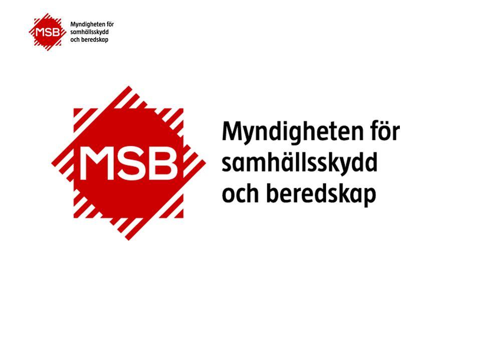 www.msbmyndigheten.se Sammanfattningsvis MSB verkar för ett stärkt samhällsskydd och en god beredskap där alla tar ansvar.