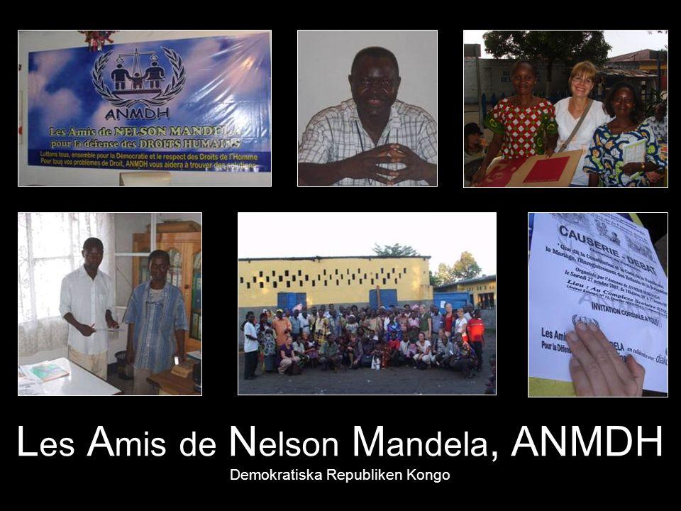 L es A mis de N elson M andela, ANMDH Demokratiska Republiken Kongo
