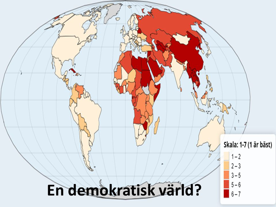 En demokratisk värld?