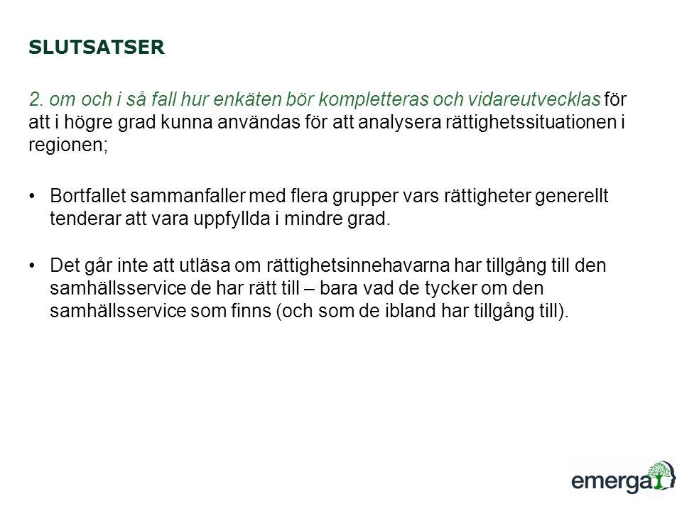 SLUTSATSER 2.