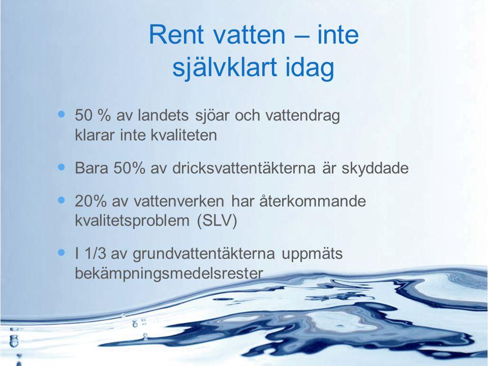 Sverige- ett vatten av världsklass eller...