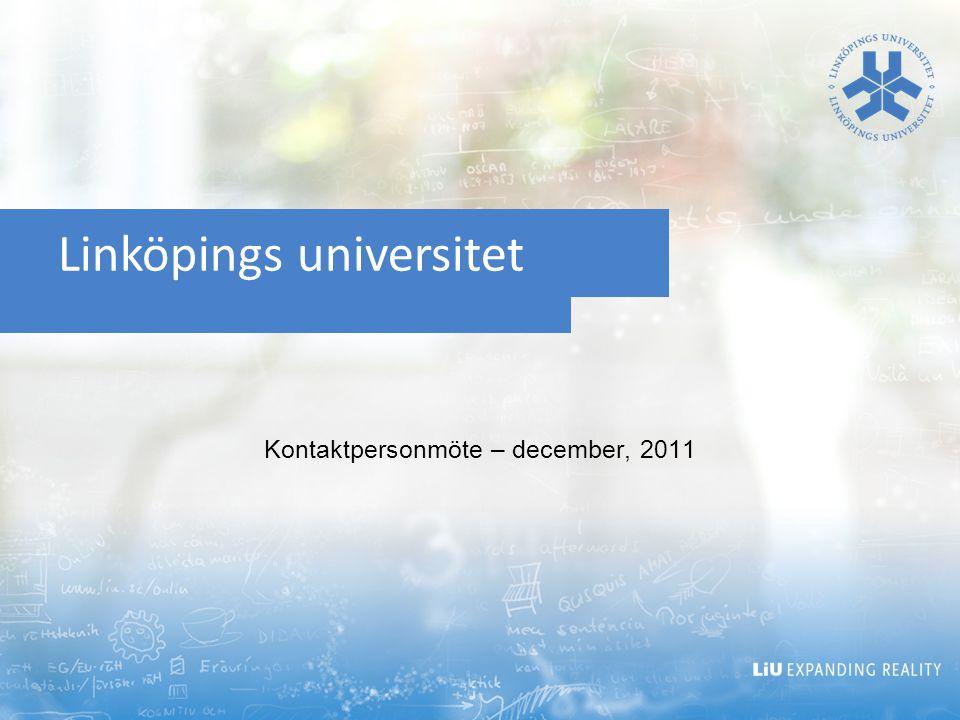 Projektet översyn av studenters LiU-id Nyhet.