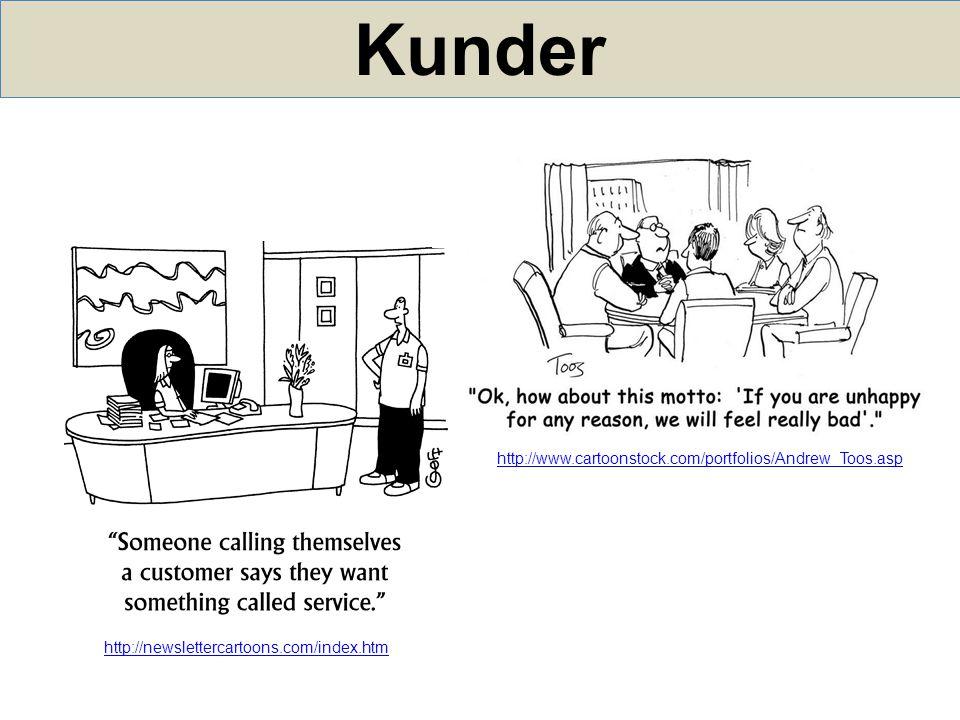 Kunder http://newslettercartoons.com/index.htm http://www.cartoonstock.com/portfolios/Andrew_Toos.asp