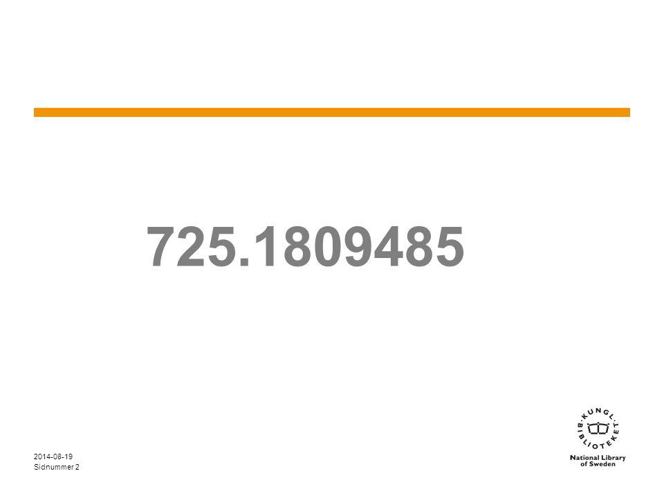 Sidnummer 2014-08-19 2 725.1809485