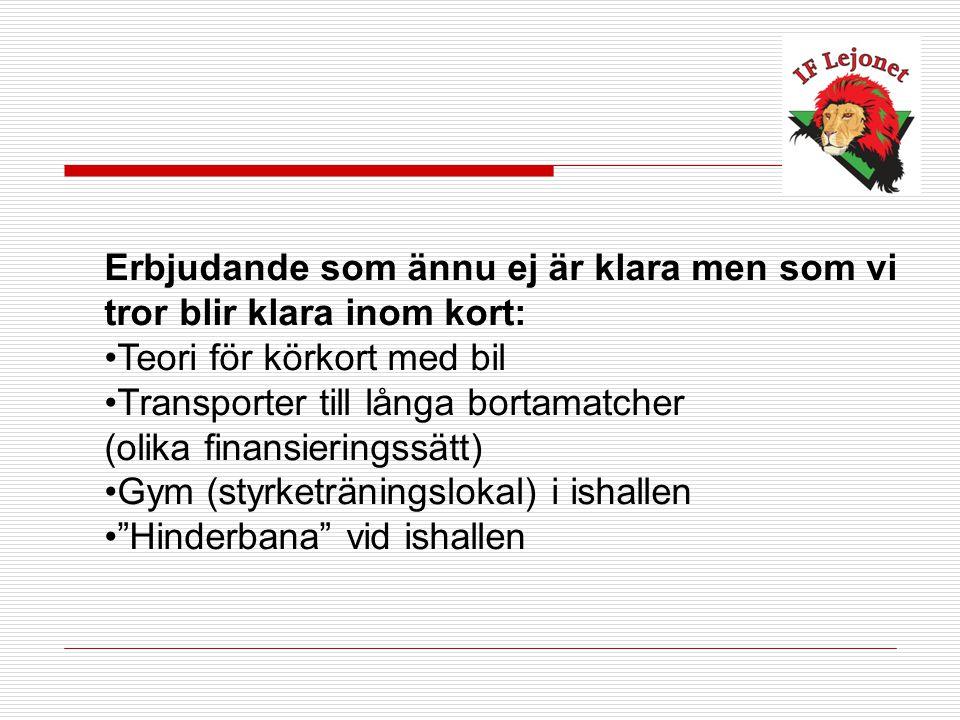 Har du ytterliggare frågor så kontakta gärna Mattias Nilsson på tfn 0709-89 07 72 eller skicka e-mail på adress Mattias.Nilsson@iflejonet.se Hockey är skoj!