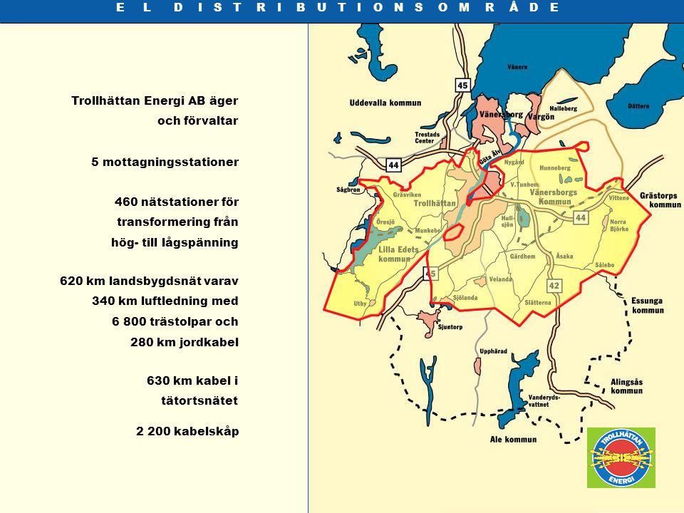 S T A D S N Ä T Trollhättan Energi erbjuder fiberförbindel- ser i Stadsnät som svartfiber och kapacitet 10-1000 Mbps ethernet samt internet access på 0,5, 1, 2, 4 och 10 Mbps.