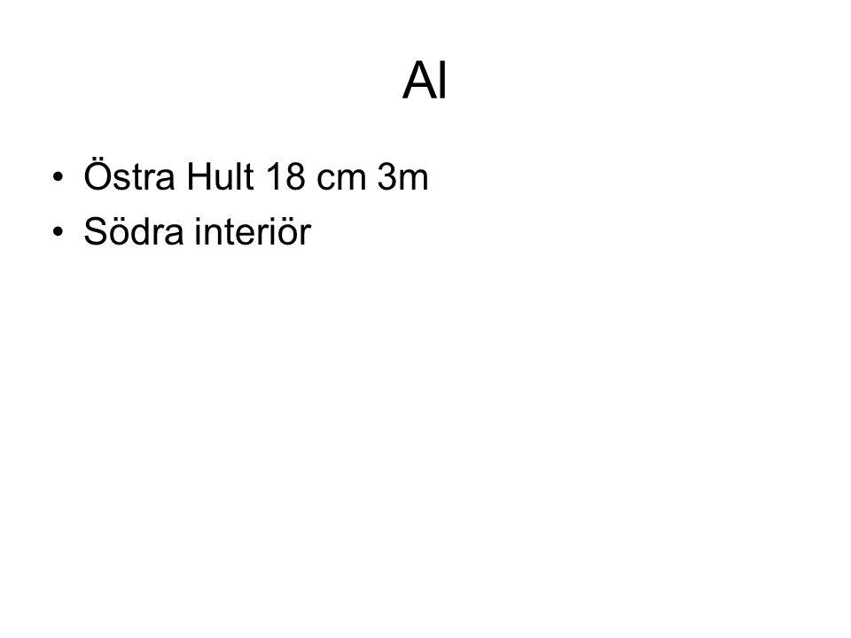 Al Östra Hult 18 cm 3m Södra interiör
