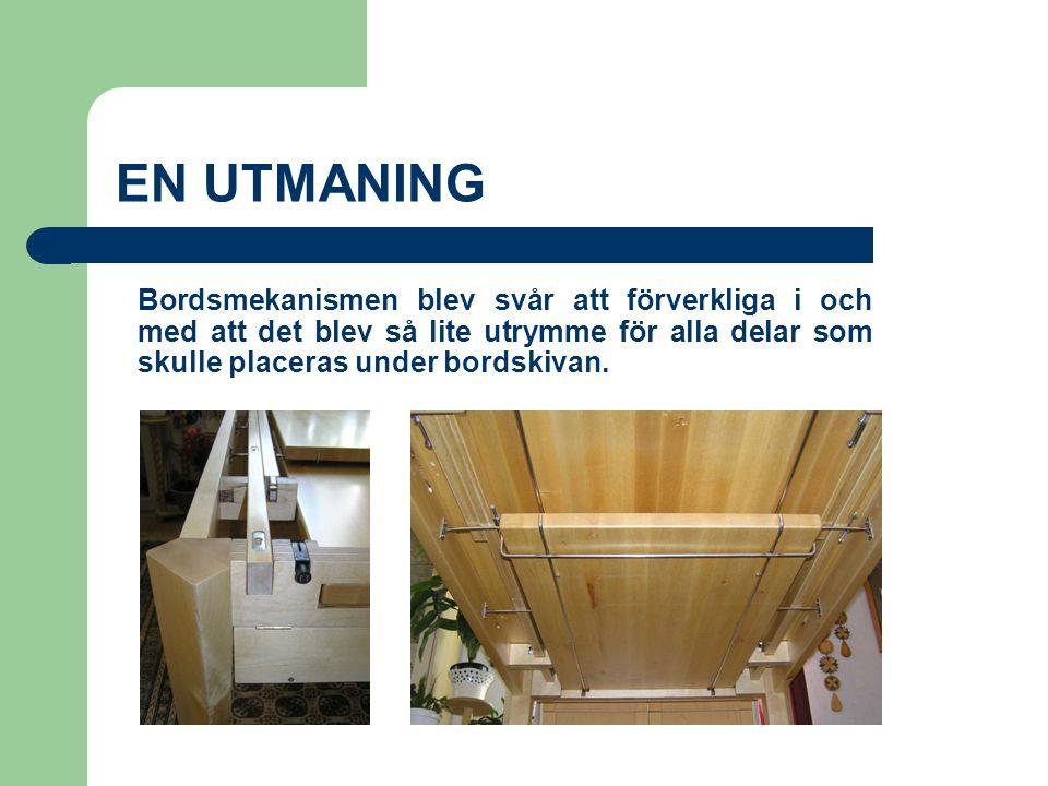 T V Å K A N T E N Design och tillverkníng: Andraé Holmberg