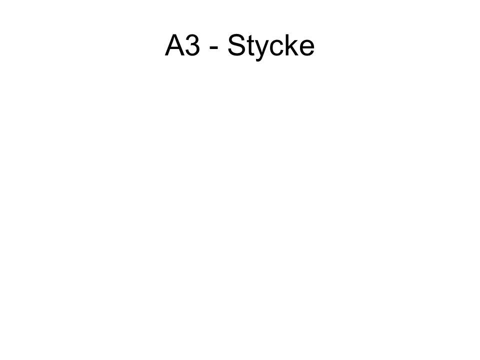 A3 - Stycke