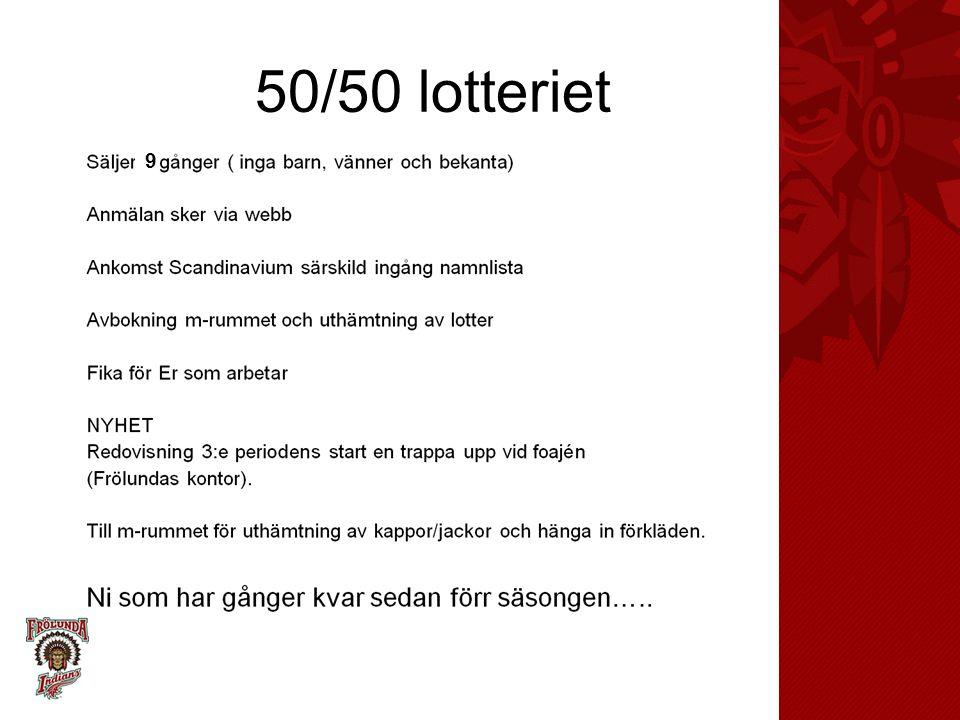 50/50 lotteriet 9