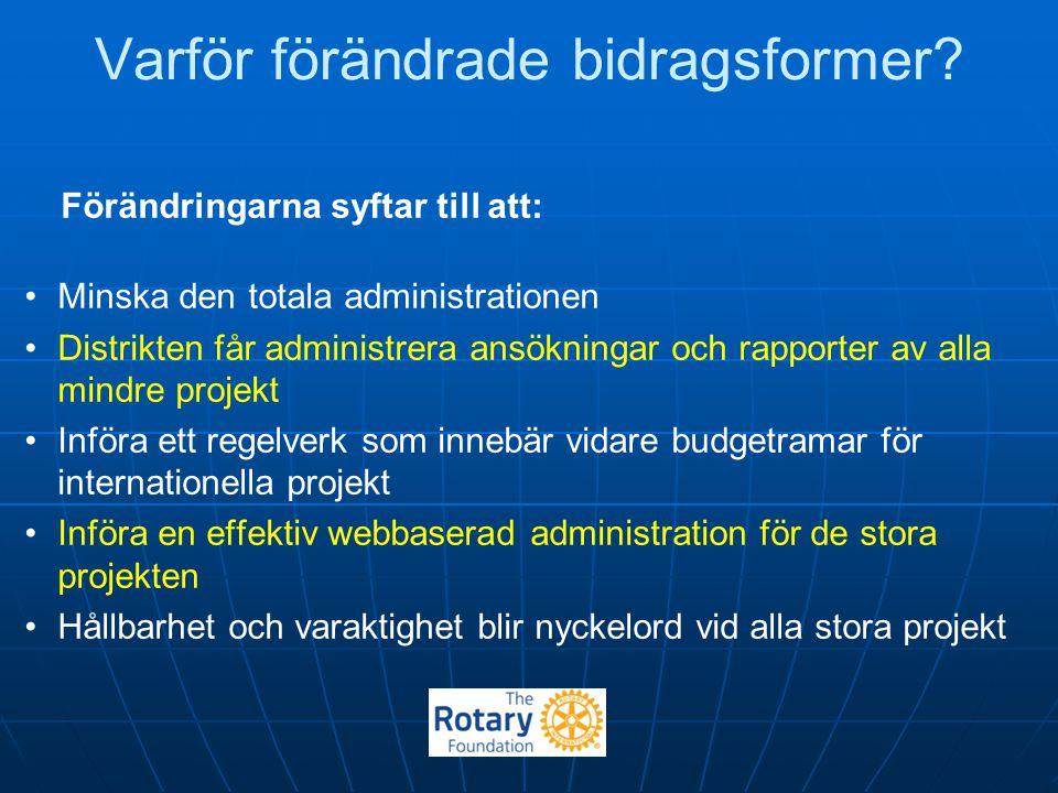 Distriktets hemsida www.rotary.se/2400 Under fliken Rotary Foundation finns: Kontaktuppgifter till TRF-kommitténs representanter.