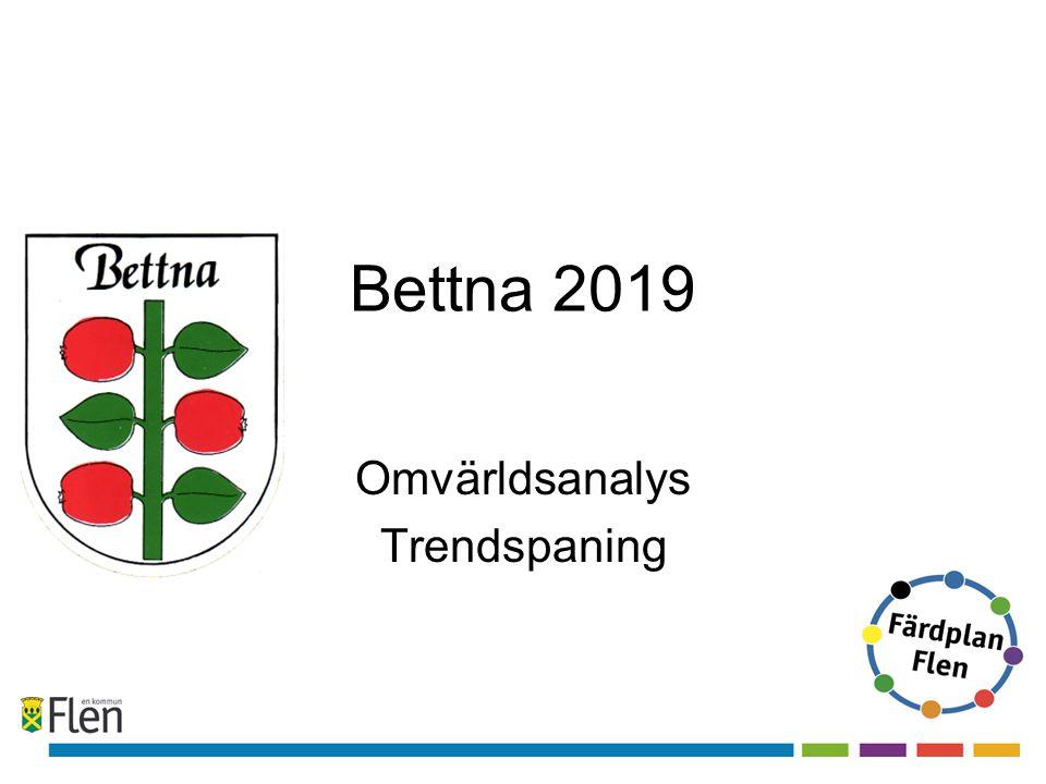 Bettna 2019 Omvärldsanalys Trendspaning