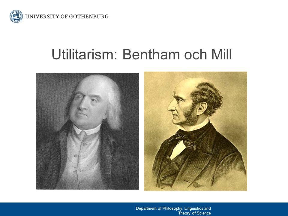 Vad är utilitarism.