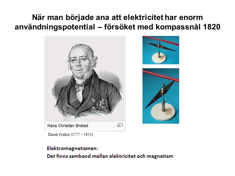 Det roterande magnetfältet - Teslas stora uppfinning Källa: Electrical Power System Essentials , Shavemaker & van der Sluits