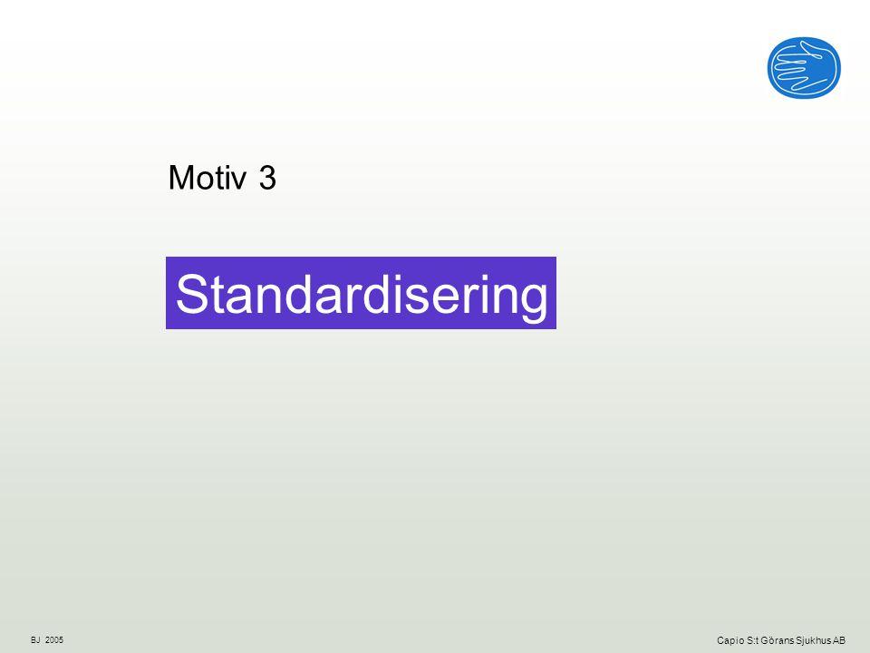 BJ 2005 Capio S:t Görans Sjukhus AB Standardisering Motiv 3