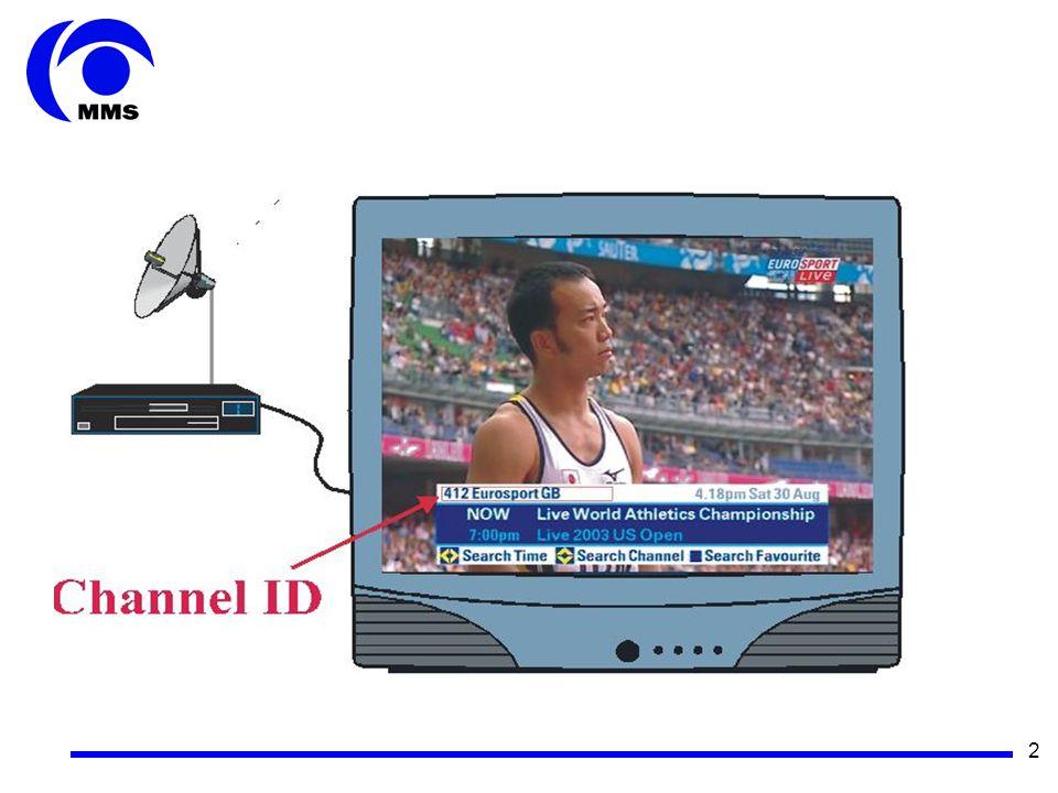 3 Effekt av felet: De hushåll som inte har gjort en ny kanalsökning visar fel banner.
