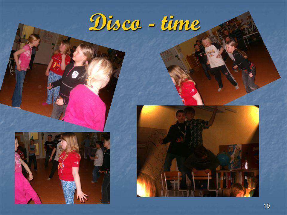 10 Disco - time