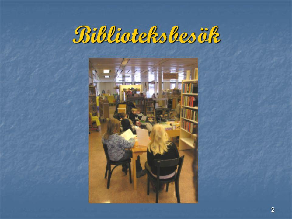 2 Biblioteksbesök