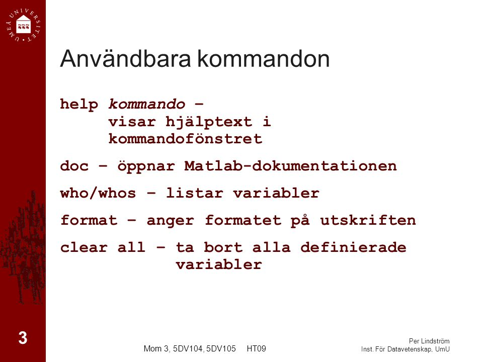 Per Lindström Inst.