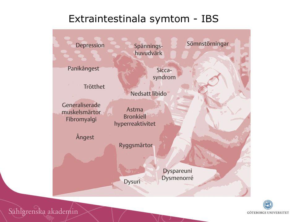 Extraintestinala symtom - IBS