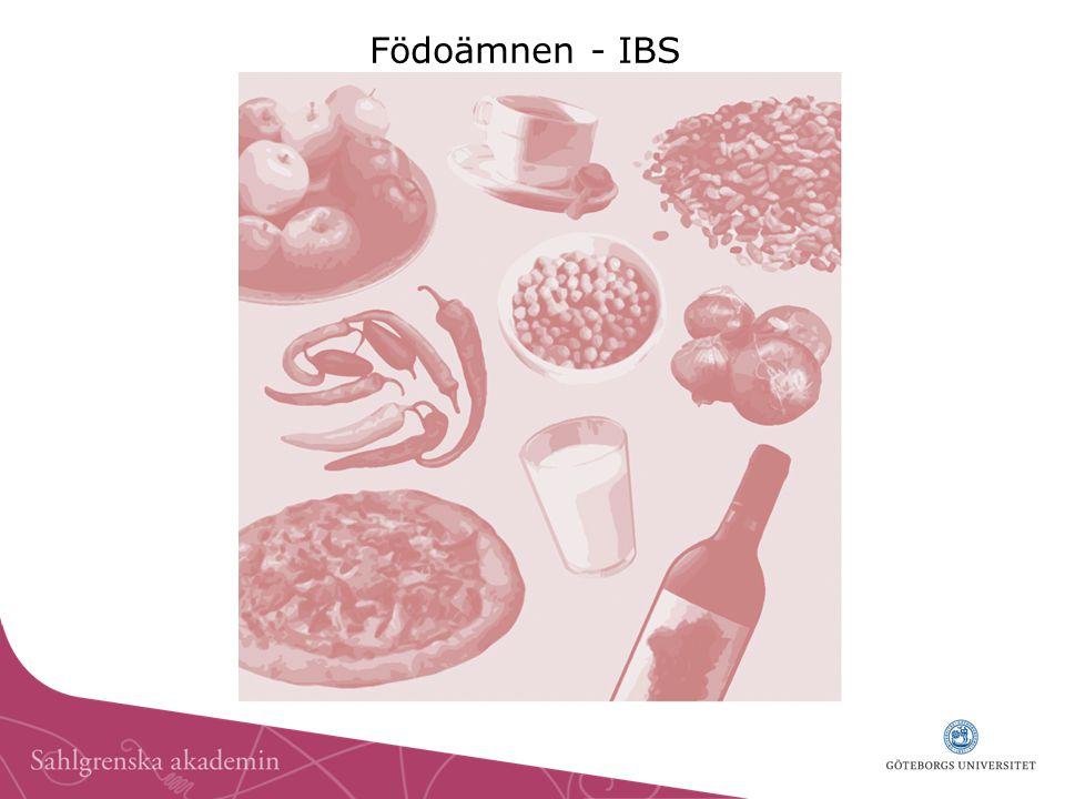 Födoämnen - IBS