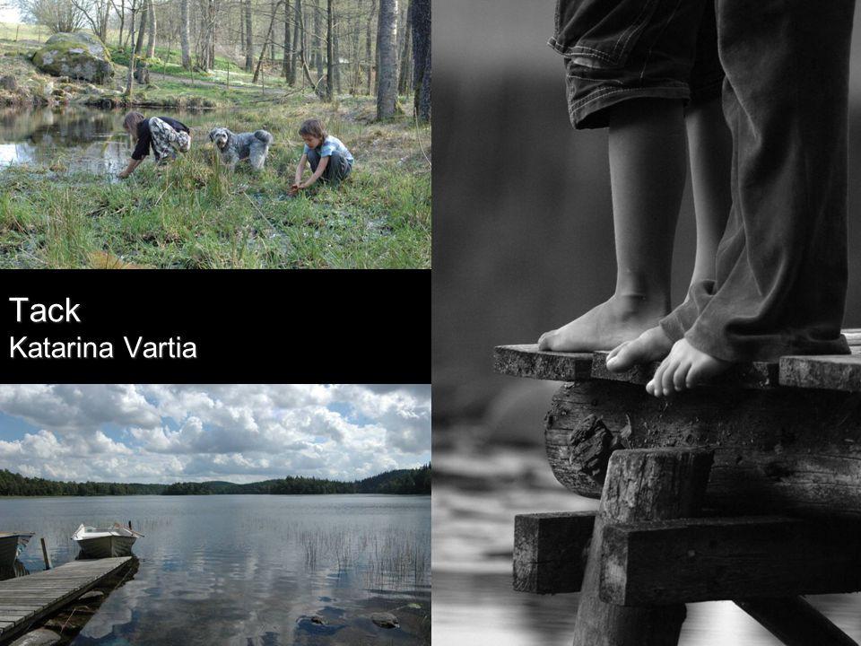 Gör om med bilder i stället Tack Katarina Vartia