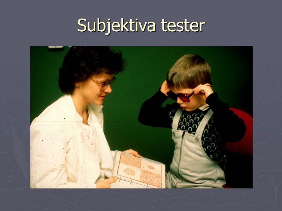 Subjektiva tester