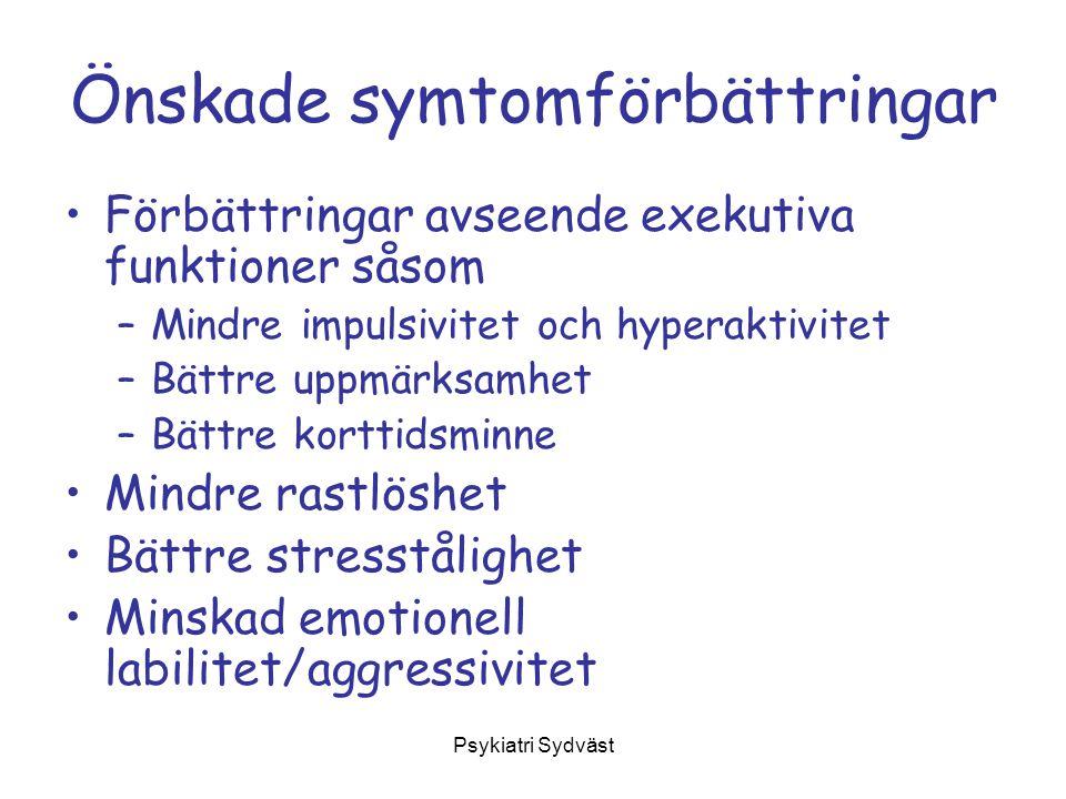 Psykiatri Sydväst Preparat Förstahands alternativ: Ritalin (metylfenidat) Tablett 10 mg samt kapslar 20, 30 & 40 mg.