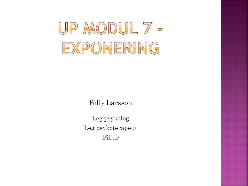 Billy Larsson Leg psykolog Leg psykoterapeut Fil dr