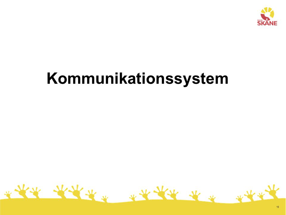 13 Kommunikationssystem