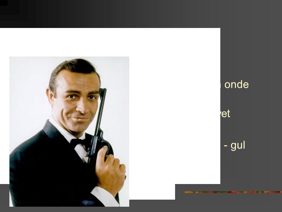 1960 Goldfinger Den gode den onde den fule Mandomsprovet Easy rider Jag är nyfiken - gul