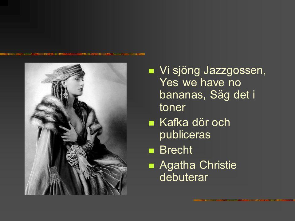 Trojanska hästen blev för farlig Jussi Björling gör debut Stig Dagerman debuterar med Ormen Pippi Långstrump Boyes Kallocain Utvandrarna kommer 1949