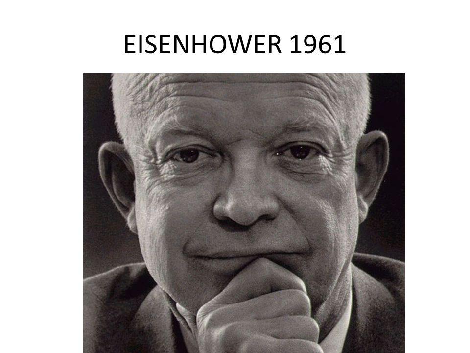 EISENHOWER 1961